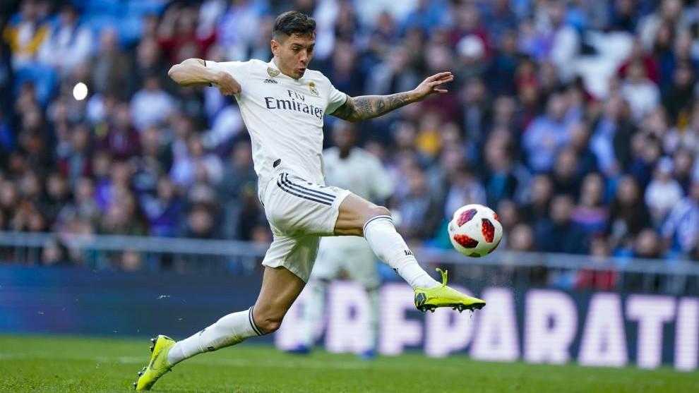 Javi Sanchez COPA REY Stadium Santiago Bernabeu Real Madrid Melilla