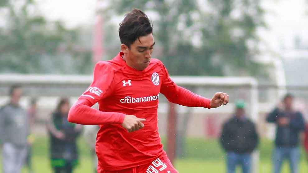 Diego Abella Callejas, goleador Sub-20 del Toluca