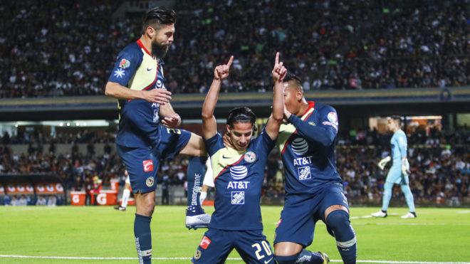 Liguilla MX Apertura 2018  Pumas vs América  resultado fcb5045b62838