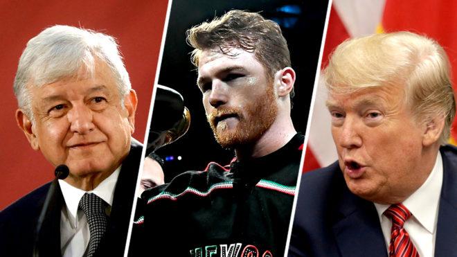 AMLO, Canelo y Trump.