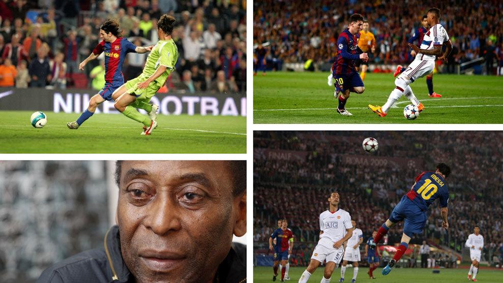 FC Barcelona: Los goles y jugadas de Messi que contradicen a Pel.