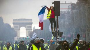Manifestación producida en París el pasado 24 de noviembre