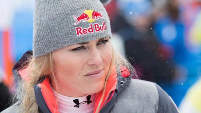 La esquiadora Lindsey Vonn
