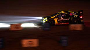 'Vale', pilotando su Ford Fiesta WRC.