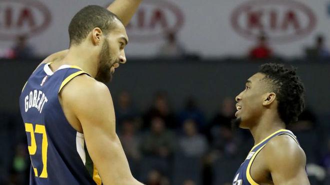 NBA: Donovan Mitchell Trolea A Su Compañero Gobert Por Su
