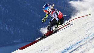 Mikaela Shiffrin ha sido la mejor sobre una Engiadina de St. Moritz...