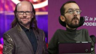 Santiago Segura y Pablo Echenique comentan en Twitter el resultado de...