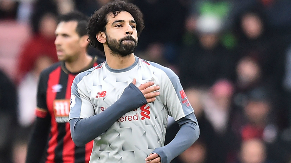 Salah stars as Liverpool move top and put the pressure on Manchester