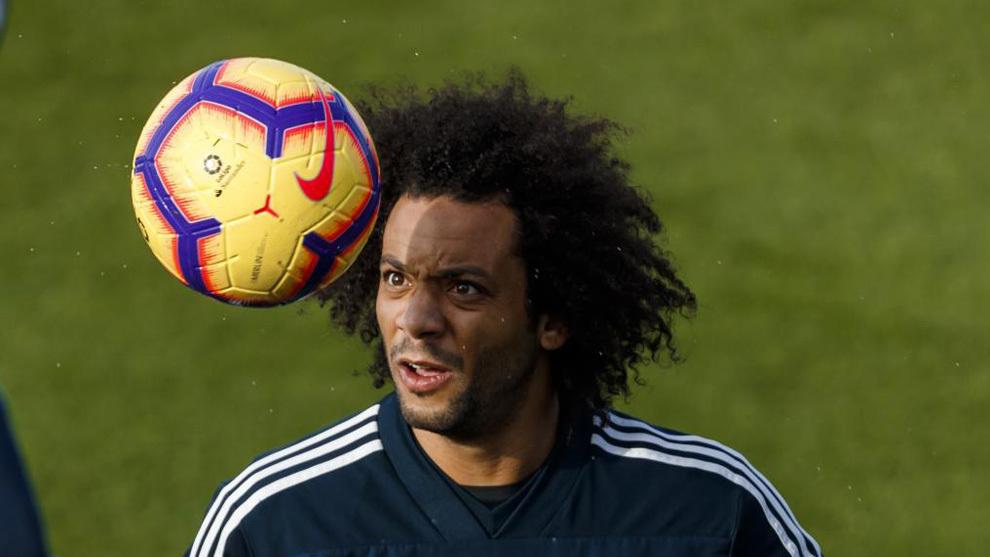 El Madrid viaja a Huesca sin lateral izquierdo: Marcelo no llega a tiempo