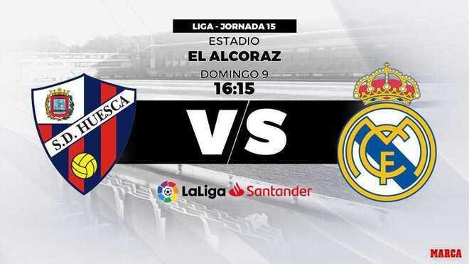Liga Santander 2018-19: Huesca - Real Madrid: horario y dónde ver hoy en directo por televisión ...