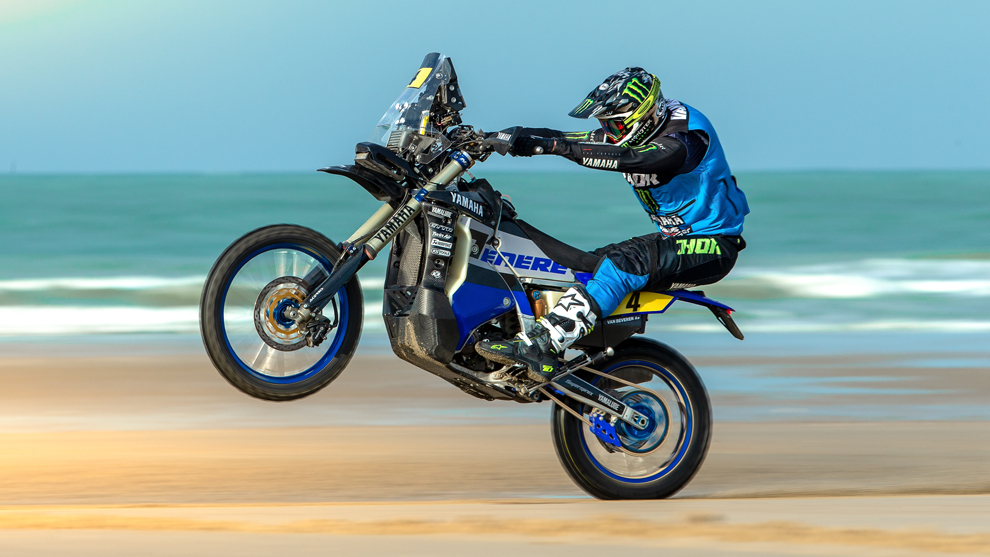 Adrien Van Beveren (Yamaha) Dakar 2019