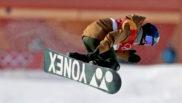 Queralt Castellet, durante los Juegos Olímpicos de PyeongChang 2018.