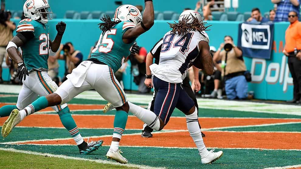 36a73669c NFL  Patriots vs Dolphins  resumen