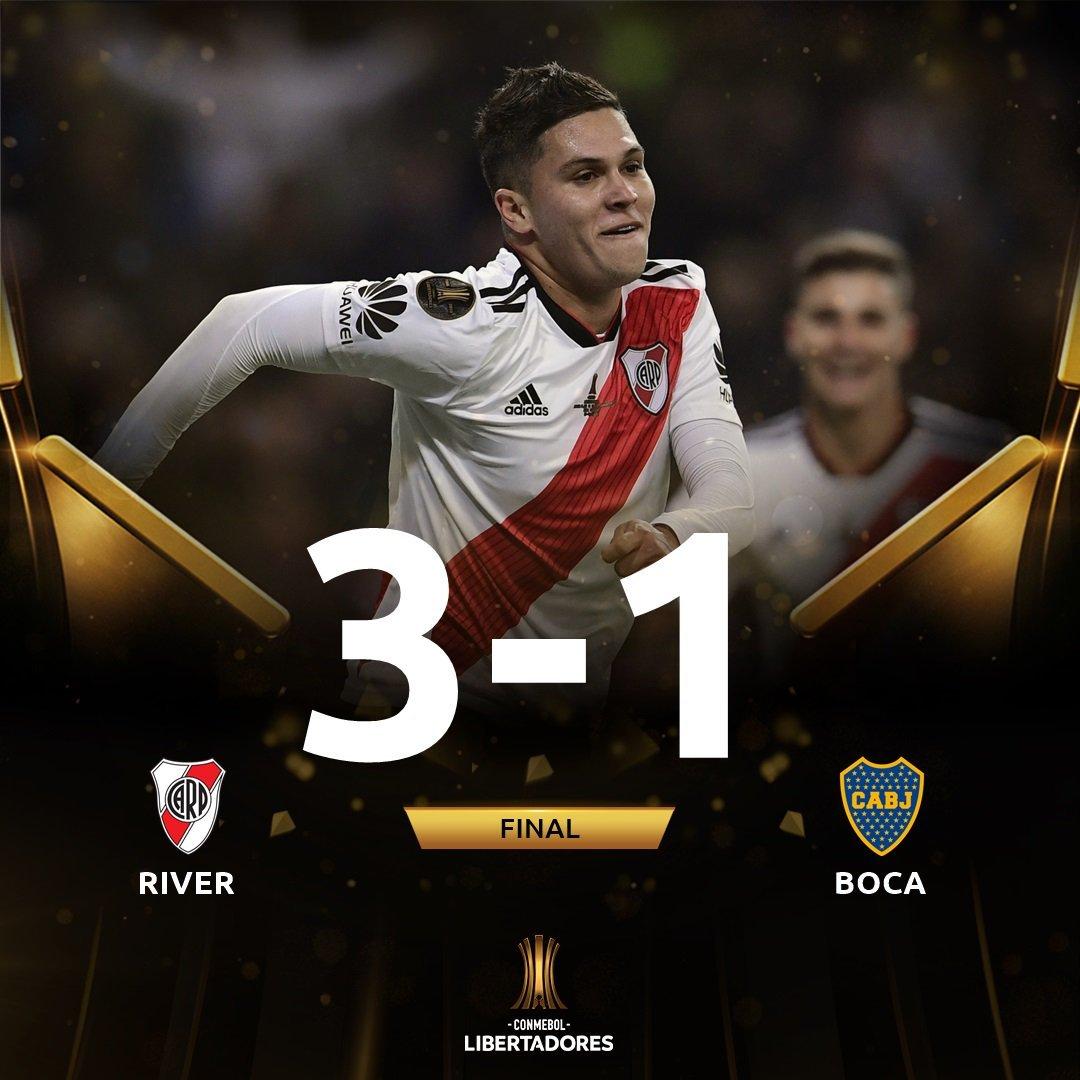 aa9c7d33d Cuarta Copa Libertadores que conquista River tras las ganadas en 1986,  1996, 2015 y 2018