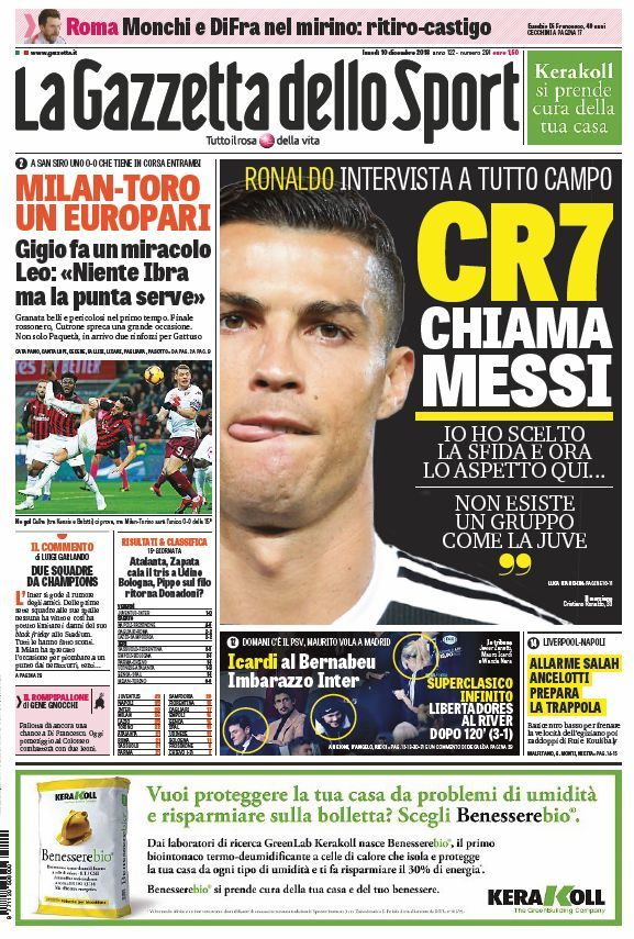 d6f6b84551d8 Juventus: Cristiano Ronaldo challenges Messi to join him in Serie A ...
