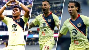 Martínez, Aguilera y Lainez marcaron ante Pumas.