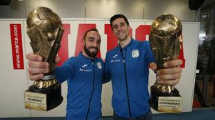 Ricardinho y Ortiz, elegidos mejores jugadores del mundo en 2017.