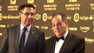 Josep Maria Bartomeu and Javier Tebas