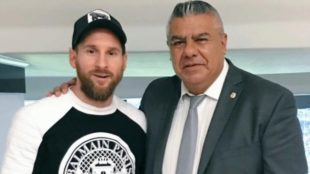 Messi's meeting with Tapia