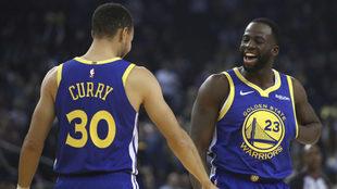 Stephen Curry comanda victoria de los Warriors.
