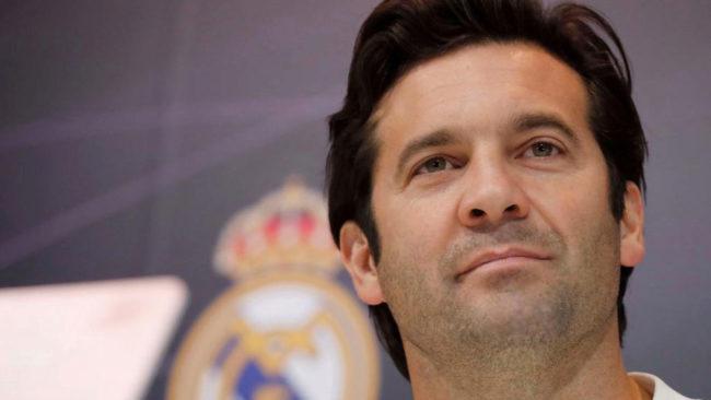 Real Madrid coach Santiago Solari