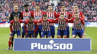 Atletico's probable XIs,