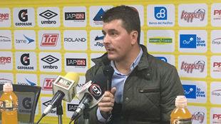 Ismael Rescalvo, durante una rueda de prensa.