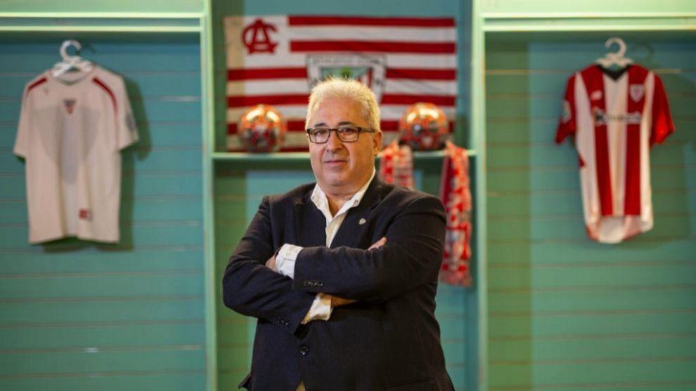 Uribe-Echevarría posa para MARCA en una entrevista durante esta...