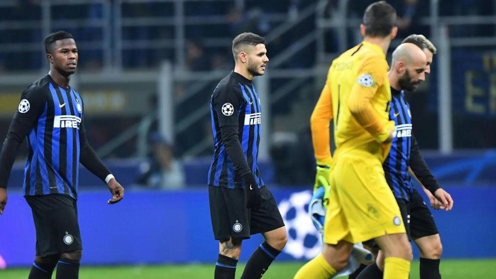 Inter's players.
