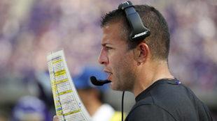 John DeFilippo deja su cargo como coordinador ofensivo.