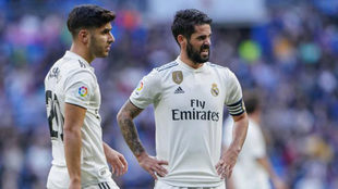 Marco Asensio and Isco Alarcon