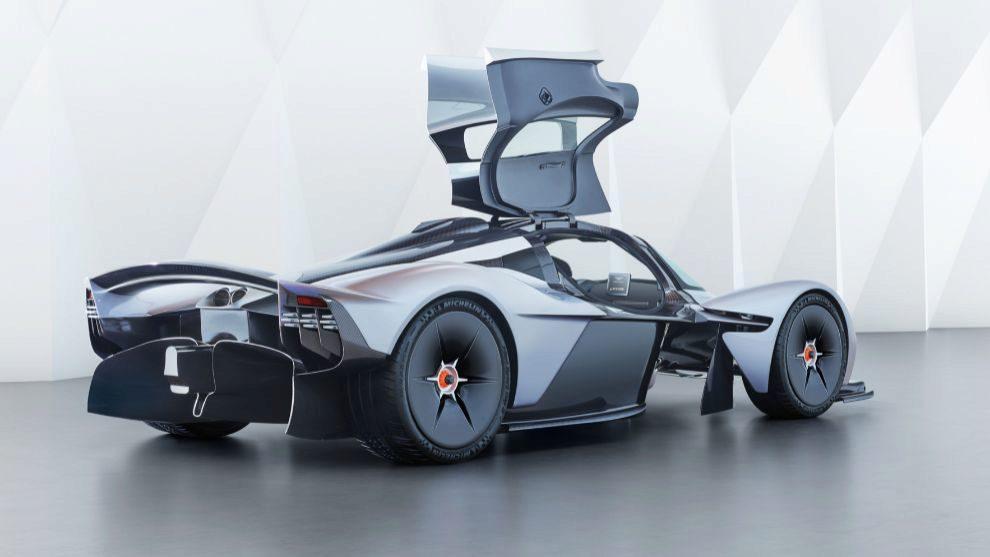 El Aston Martin Valkyrie tendrá un par máximo de 740 Nm a 7.000 rpm.
