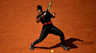 Serena Williams, en Roland Garros.