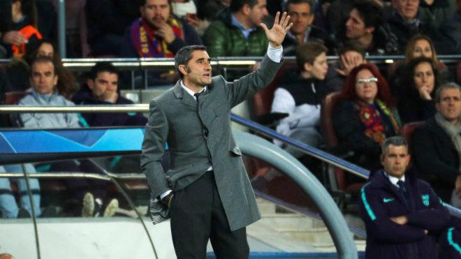 Valverde: Dembele scored the goal but Barcelona are a team - MARCA.com