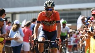 Vincenzo Nibali, en la Vuelta a España 2018.