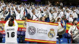 La Gran Familia de Hellin supporters club.