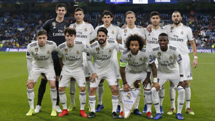 Real Madrid's starting XI vs CSKA.