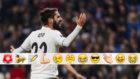 Isco, tras ser pitado por el Bernabéu
