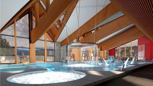 Angleo es la joya de la corona de Les Angles, un centro termal...
