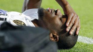 Kondogbia se lamenta por su lesión.