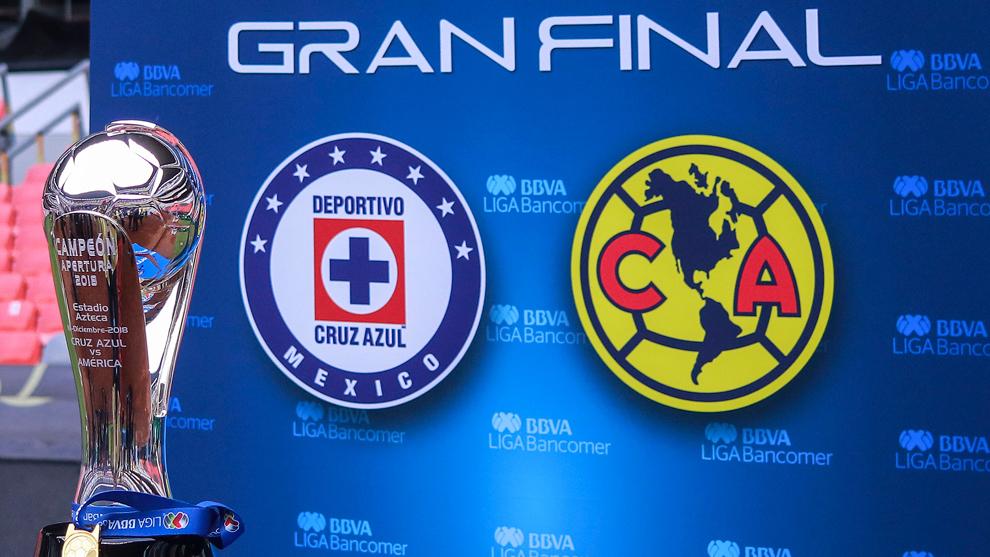 ae4bf1474 Final Liga MX Apertura 2018  Cruz Azul y América chocan en el primer ...