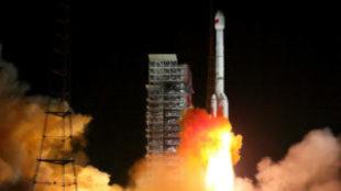 Momento del lanzamiento de la Chang'e-4