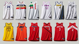 Discover the spectacular 'Earned Edition' shirts of the NBA