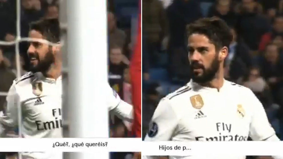 What did Isco say to the Bernabeu?
