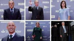 Todas las personalidades de la Gala MARCA 80 aniversario.