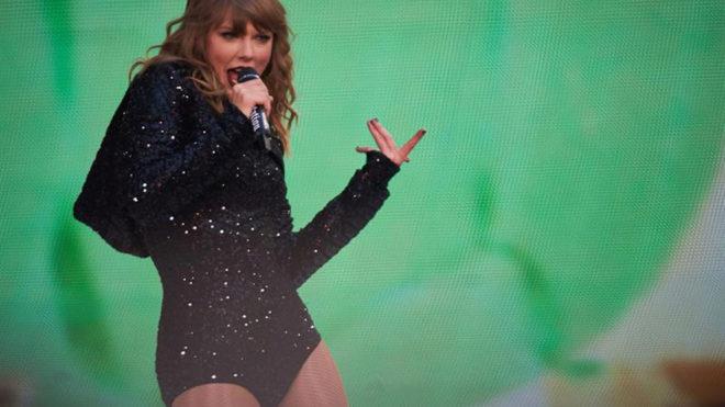 Taylor usó reconocimiento facial para detectar acosadores en concierto