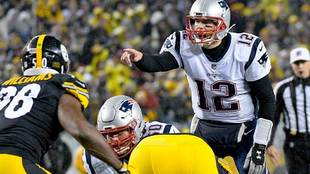Tom Brady tiene marca de 11-2 ante los Steelers.