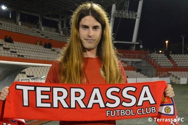 Valentina Berr, jugadora del Terrassa FC y segunda futbolista...