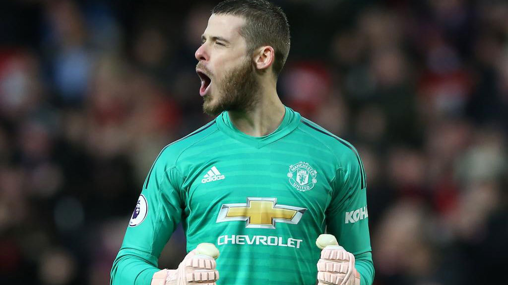 quality design 8a1c0 46902 De Gea is close to renewing with Manchester United, Robben ...