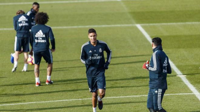 Gareth Bale, ausente en el entrenamiento previo al duelo ante el Rayo Vallecano